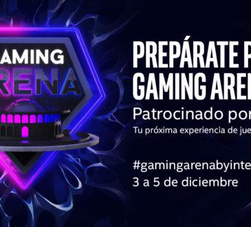 Intel presenta Gaming Arena, una iniciativa que busca generar sinergias y experiencias para los gamers de todo el continente.