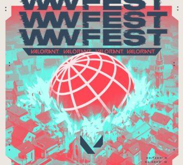 Riot Games y Crown Channel presentarán el WWFest: VALORANT un Festival de Música Digital inspirado en el juego de disparos táctico de Riot Games.