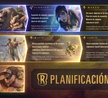 Durante la presentación de la temporada 11, Riot Games ha adelantado todo lo que se podrá esperar durante este año en Legends of Runeterra