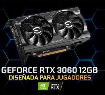 EVGA anunció oficialmente sus nuevas GeForce RTX 3060 12GB XC y XC Black, llevando todas las tecnologías de última generación.