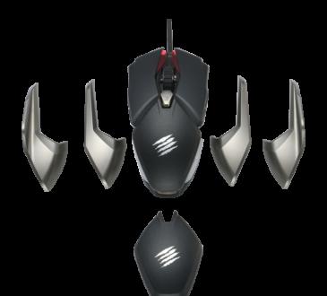 Mad Catz Global Limited se complace en anunciar un nuevo ratón para juegos, el B.A.T. 6+. Combinando los elementos de diseño rápido y potente.