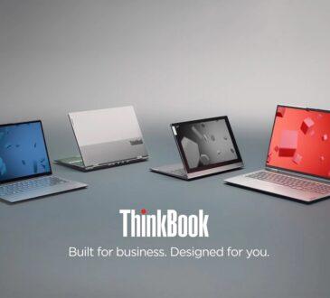 Lenovo anunció la nueva ThinkBook Plus Gen 2 i y presentó las igualmente elegantes ThinkBook 13x i, ThinkBook 14p Gen 2 y ThinkBook 16p Gen 2.