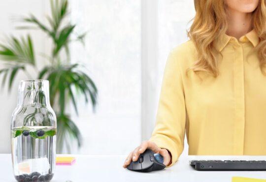 Logitech lanzó el ERGO M575 Wireless Trackball, un elegante mouse inalámbrico con trackball, diseñado especialmente para maximizar la comodidad.