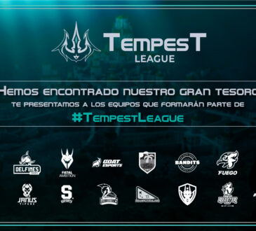 La nueva liga oficial de League of Legends para Centroamérica y Caribe, Tempest League, ha confirmado los equipos que se estarán enfrentando durante su primera edición