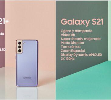 Samsung Electronics presentó el Galaxy S21 y el Galaxy S21+, los últimos dispositivos insignia que le empoderan a expresarse tal como es.