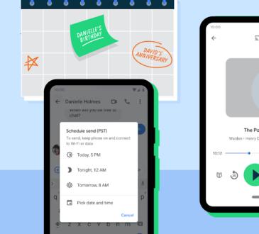 Recientemente Google presento a los usuarios de Android funciones como Emoji Kitchen y audiolibros narrados automáticamente.