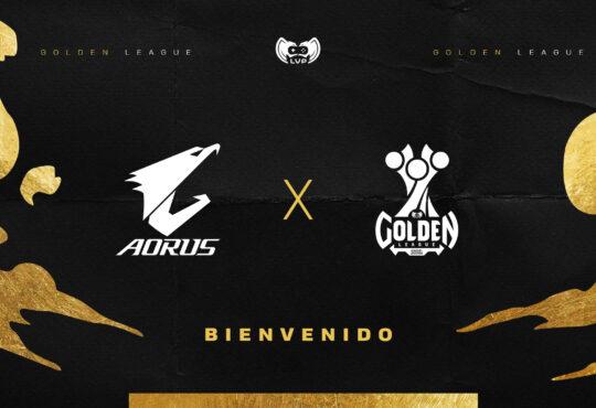 LVP anuncia el ingreso de Aorus-AMD como patrocinadores de la Golden League, liga profesional de Esports del país.