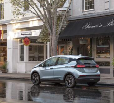 Chevrolet amplió su portafolio de vehículos eléctricos con la introducción del nuevo Bolt EUV 2022 totalmente eléctrico, junto con el 2022 Bolt EV.