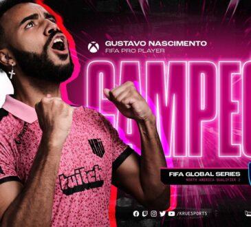 Tras el título de Matías Bonnano en la Global Series 1 de Sudamérica, KRÜ Esports vuelve de la mano de Gustavo Nascimento en la FGS 2 de Norteamérica.