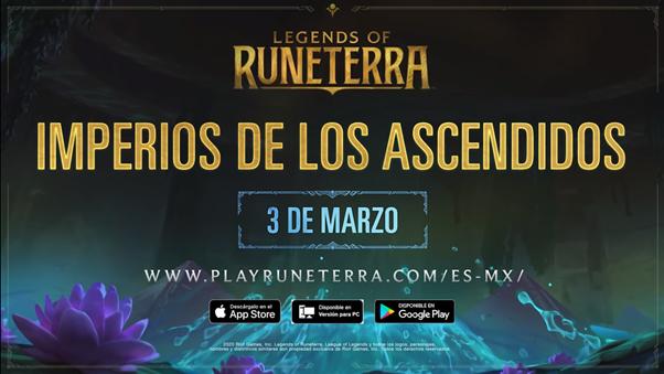 Para esto, Riot Games presenta un nuevo tráiler de Imperios de los Ascendidos y que no dejará a ningún fanático y jugador de Legends of Runeterra