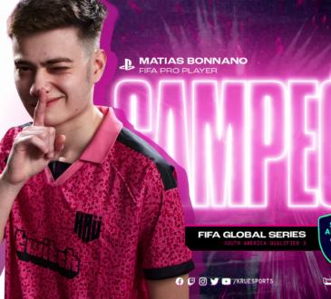 """KRÜ Esports sigue celebrando los triunfos de sus jugadores, y esta vez les tocó a Matías Bonanno y su coach Fernando """"Bolt0k"""" Calvo en Playstation 4."""