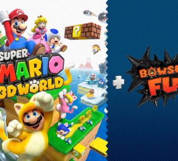 Super Mario 3D World + Bowser's Fury, ya está disponible para la familia de Nintendo Switch. Con Mario, Peach, Luigi y Toad podrás divertirte.