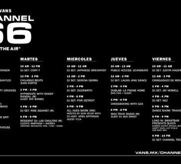 Vans se complace en anunciar el lanzamiento de Channel 66, plataforma digital de transmisión en vivo que emitirá programas desde todo el el mundo