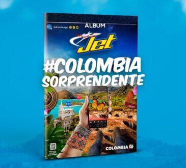 La Compañía Nacional de Chocolates anuncia el lanzamiento de su nuevo Álbum Jet #ColombiaSorprendente, un recorrido por Colombia.