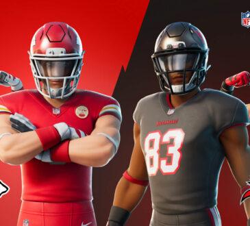 La temporada de la NFL se definirá en un último partido, y la fiebre del fútbol americano se dirige de regreso a Fortnite.