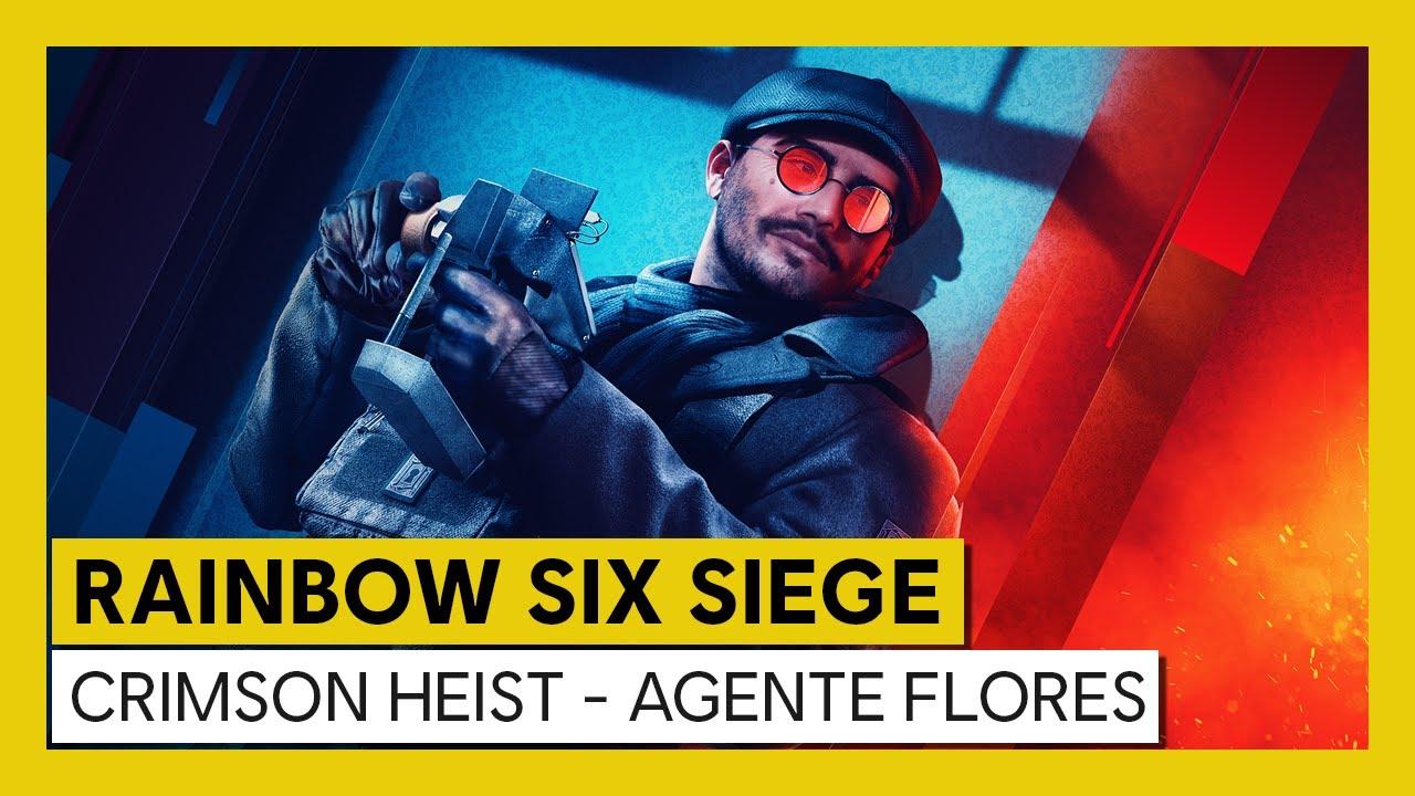 Ubisoft anunció los detalles completos de la primera temporada del Año 6 de Tom Clancy's Rainbow Six Siege: Crimson Heist.