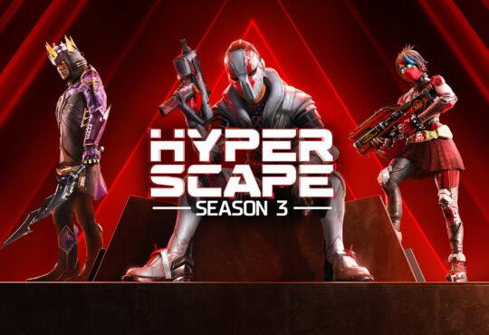 Ubisoft anuncia la Temporada 3 de Hyper Scape: Shadow Rising, la cual se estrenará el 11 de marzo en PC, PlayStation 4, PlayStation 5 y Xbox
