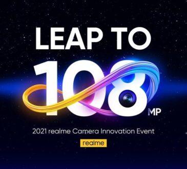 realme anuncio la primera cámara de 108MP, que el público verá en la próxima serie insignia, realme 8. Con una calidad fotográfica más nítida.